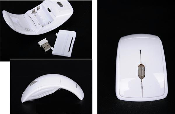 Chuột Không Dây Microsoft Arc Độc Đáo