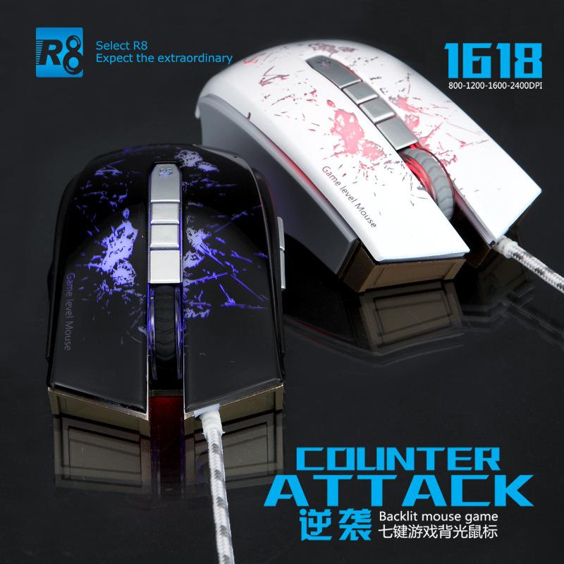 Chuột Chuyên Game R8 1618 Chính Hãng