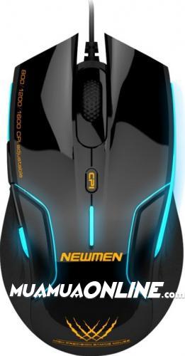 Chuột Dây Newmen N500 Chuyên Game Chính Hãng