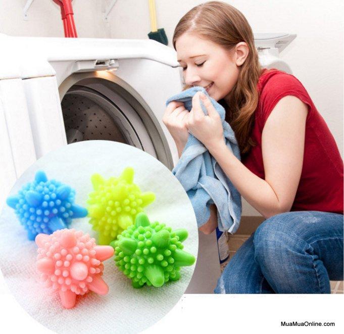 Bộ 2 Bóng Giặt Mini Thông Minh