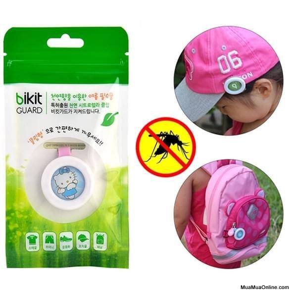 Kẹp Chống Muỗi Bikit Guard Hàn Quốc