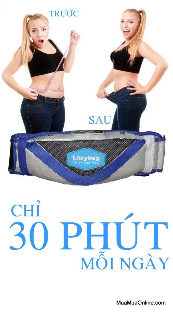 Đai Massage Bụng Cao Cấp Lz-Mb333