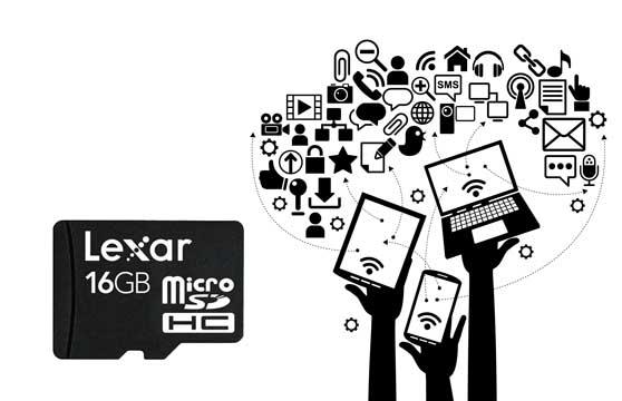 Thẻ Nhớ Microsd Lexar 16G Class 10 Chính Hãng