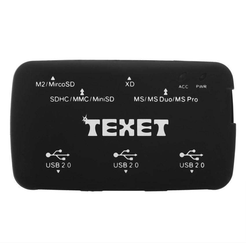 Đầu Đọc Thẻ Texet Và Usb Hub Hh-8006H