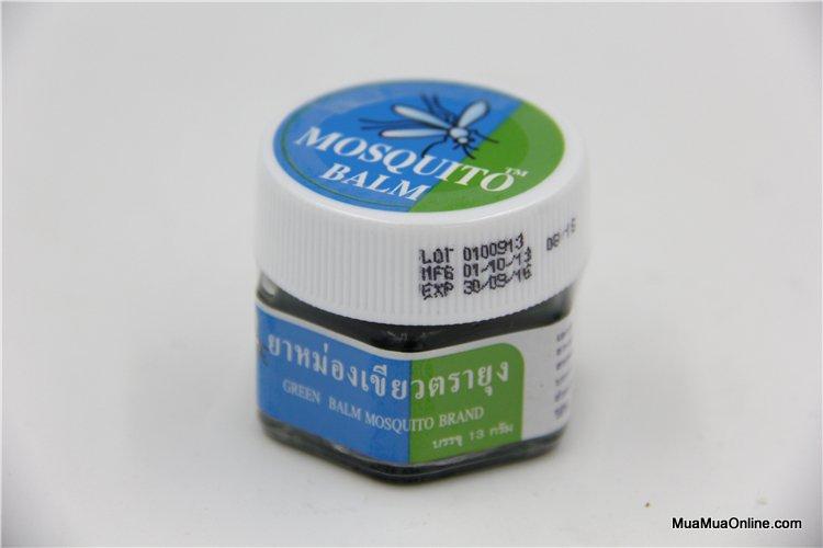 Dầu Thoa Trị Muỗi Đốt Mosquito Balm Cho Trẻ Thái Lan
