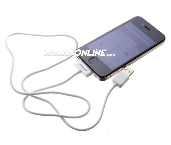 Cáp Sạc Iphone 3, 4 Và Ipad 1,2 Pisen Chính Hãng