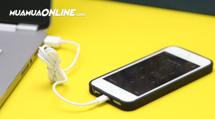 Cáp Sạc Iphone 5, 6 Cao Cấp Pisen Chính Hãng