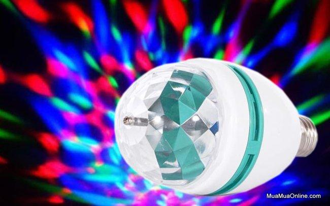 Đèn Led Karaoke, Vũ Trường Xoay Cảm Ứng Âm Thanh Cực Đẹp