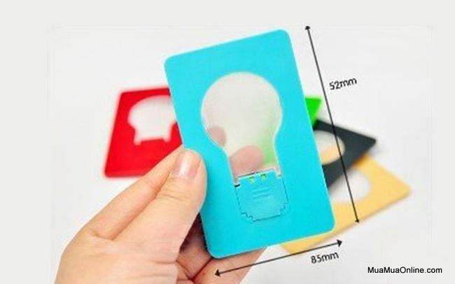 Đèn Led Cảm Ứng Hình Thẻ Atm Nhỏ Gọn
