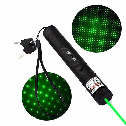 Đèn Pin Chiếu Tia Laser 303 Chính Hãng