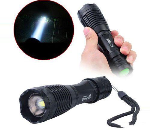 Đèn Pin Siêu Sáng Xml T6 Siêu Sáng Kèm Pin Và Bộ Sạc