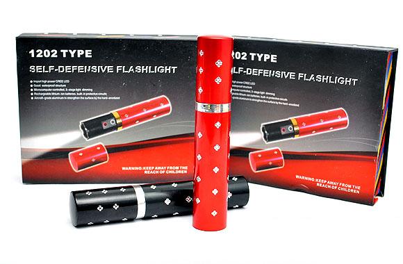 Đèn Pin Tự Vệ Siêu Sáng Tích Hợp Chích Điện