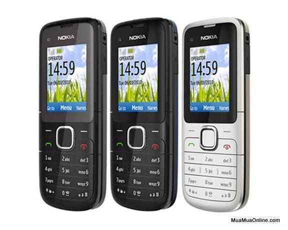 Điện Thoại Nokia C1 2 Sim 2 Sóng