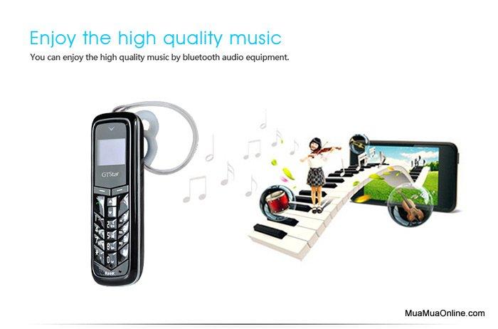 Điện Thoại Siêu Nhỏ Kiêm Tai Nghe Bluetooth Gtstar Bm50