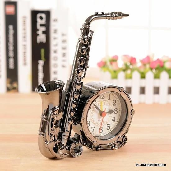 Đồng Hồ Hình Kèn Saxophone Độc Đáo