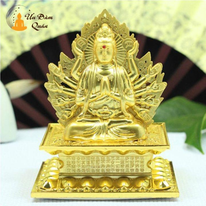 Tượng Phật Bồ Tát Nhiều Tay Trang Trí Xe Hơi
