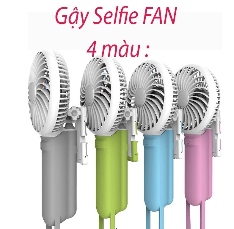 Gậy Chụp Hình Đa Năng 3 Trong 1 Selfie Fan