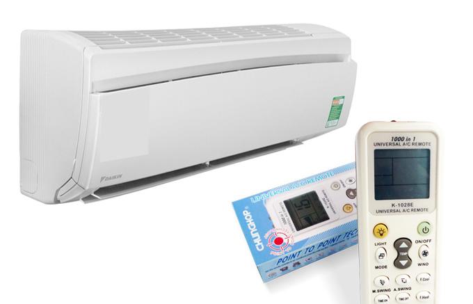 Remote Máy Lạnh Đa Năng Chunghop K-1028E 1000 In 1 Chính Hãng