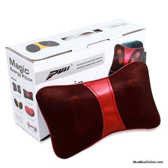 Gối Massage Hồng Ngoại Magic Energy Pillow Puli Pl-818