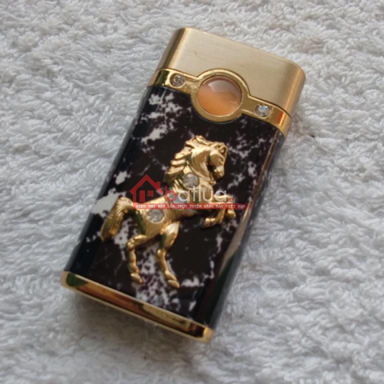 Hộp Quẹt Bật Lửa Hình Con Ngựa Ngọc