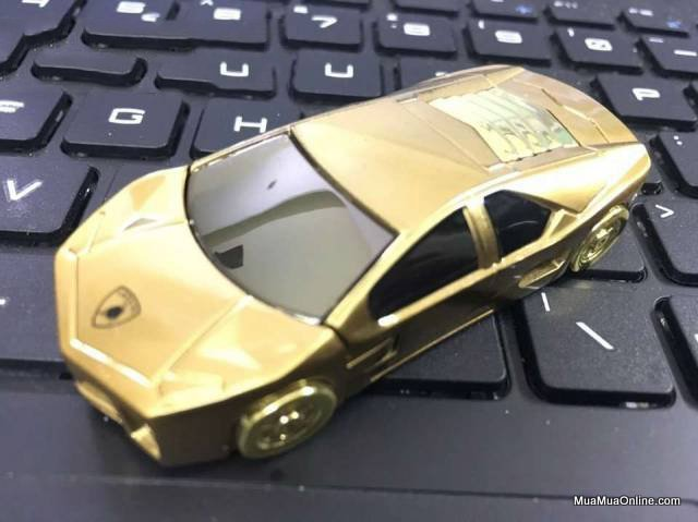 Hôp Quẹt Bật Lửa Sạc Điện Siêu Xe Lamborghini Sang Trọng