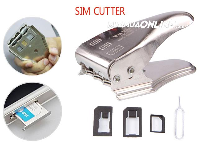 Kềm Bấm Sim Iphone 4 - Iphone 5 - Samsung 3 In 1
