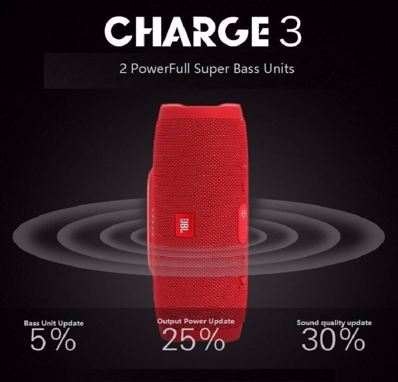 Loa Bluetooth Jbl Charge K3+ Cực Hay Loại 1