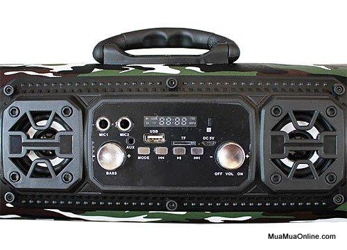 Loa Bluetooth Ch-M17 Có Led Cực Hay