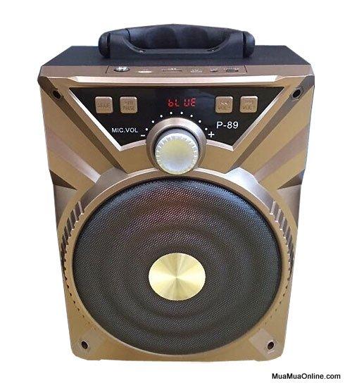 Loa Bluetooth Karaoke Xách Tay Di Động P89 Tặng Kèm Mic Cực Hay