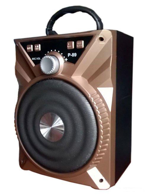 Loa Bluetooth Karaoke Xách Tay Di Động P88 P89 Tặng Kèm Mic Cực Hay