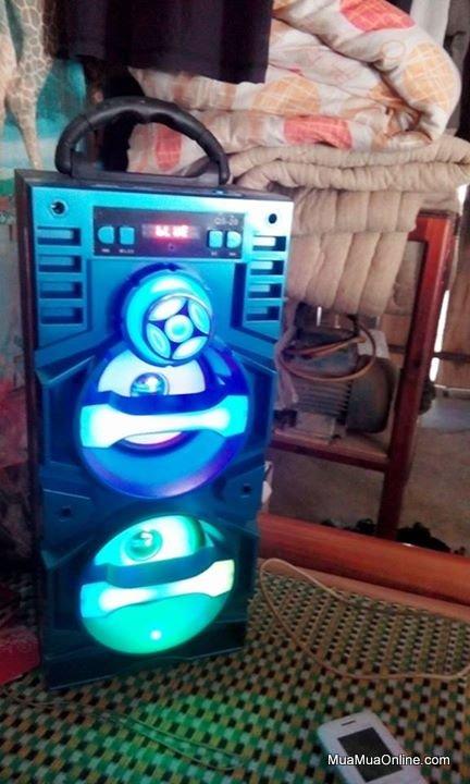 Loa Nge Nhạc Bluetooth Qs-20 Có Đèn Led
