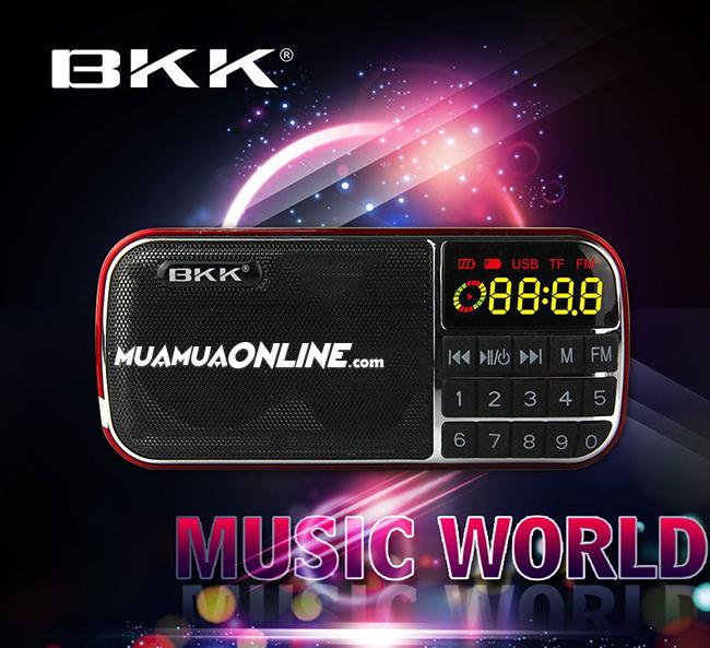 Loa Nghe Nhạc Usb Thẻ Nhớ Fm Bkk K87