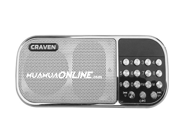 Loa Nghe Nhạc Usb Thẻ Nhớ Fm Craven Cr-22