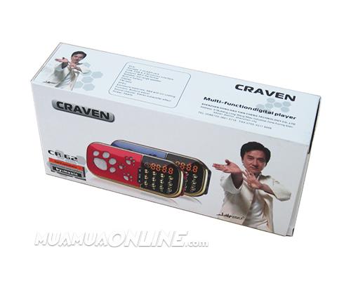 Loa Nghe Nhạc Usb Thẻ Nhớ Fm Craven Cr-62