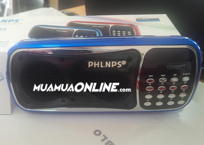Loa Nghe Nhạc Usb Thẻ Nhớ Fm Phlnps Um-23