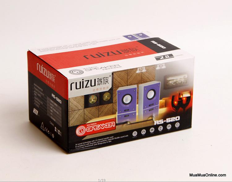 65k - Loa vi tính Ruizu RS520 giá sỉ và lẻ rẻ nhất
