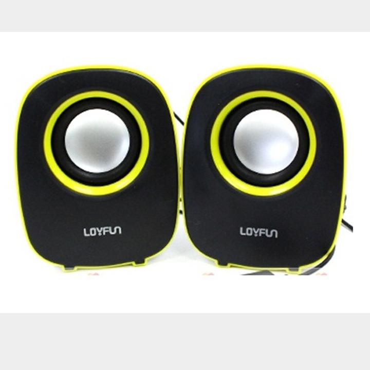 Loa Vi Tính 2.0 Mini Loyfun Lf 804