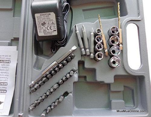 Bộ Máy Khoan Bắt Vít Dùng Pin Sạc 4.8V 45 Chi Tiết Tiện Dụng
