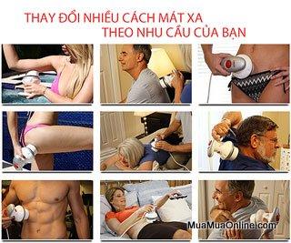 Máy Massage Cầm Tay Tonific 6 Đầu