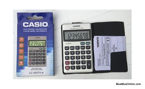 Máy Tính Bỏ Túi Casio Lc 403