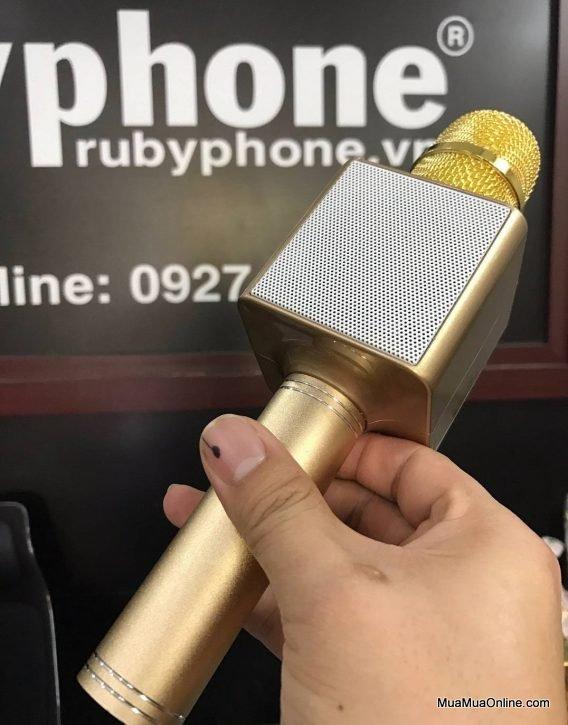 Mic Karaoke Bluetooth Kèm Loa 3 Trong 1 Ys-83 Cực Hay