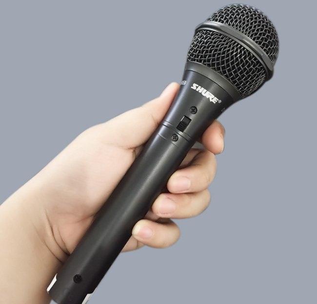 Micro Hát Karaoke Shure Sm 959 Cao Cấp Chính Hãng