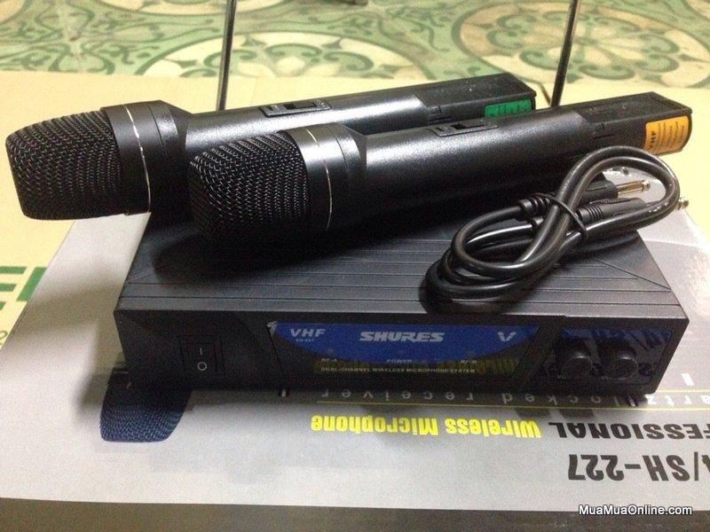 Micro Karaoke Không Dây Shures Sh-227
