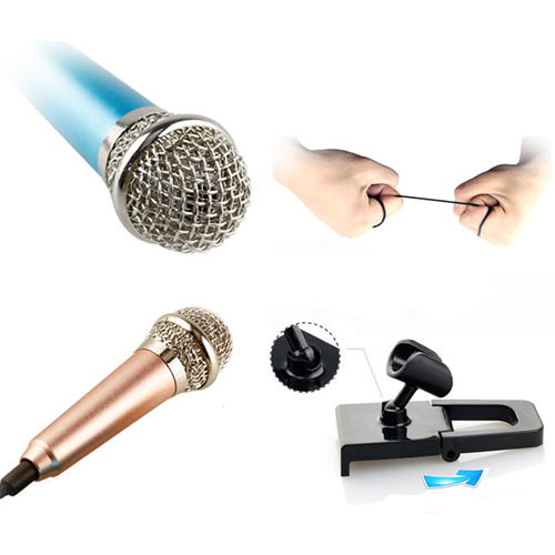 Micro Karaoke Mini Dành Cho Điện Thoại Và Máy Tính Bảng