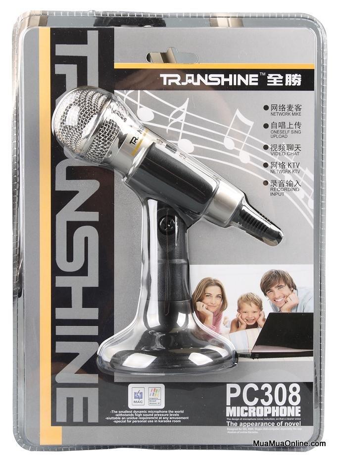 Micro Thu Âm Transhine Pc-308
