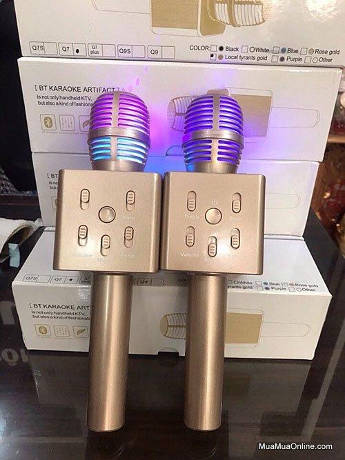 Micro Karaoke Bluetooth 3 Trong 1 Q7 Mẫu Mới