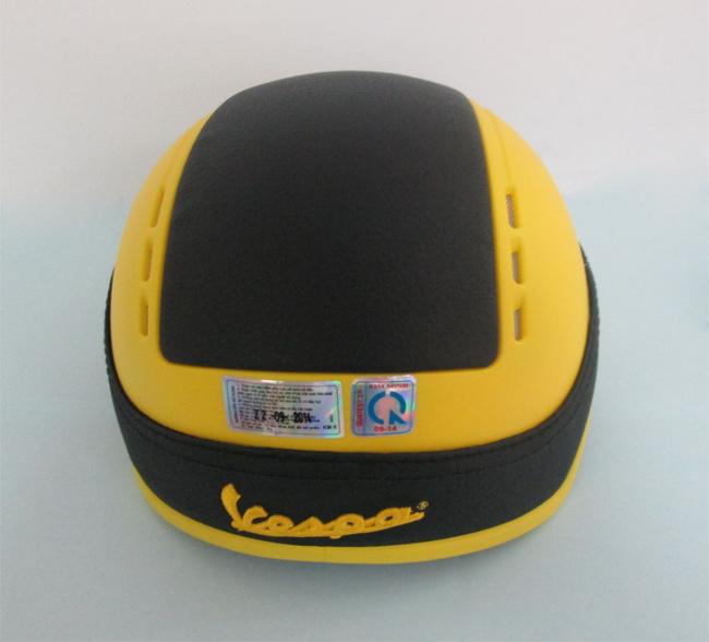 Mũ Bảo Hiểm Vespa Không Kính Km-09