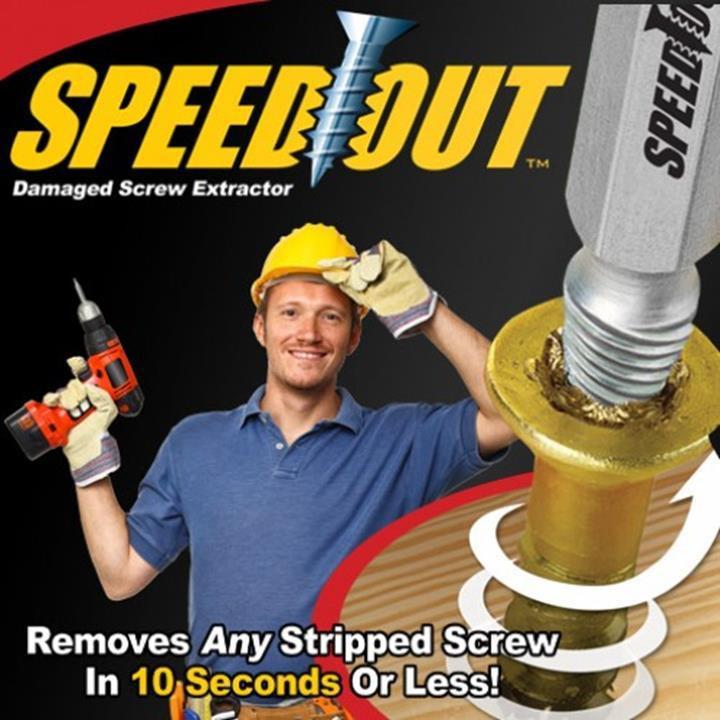 Mũi Khoan Đa Năng Speed Out (1 Bộ 4 Mũi)