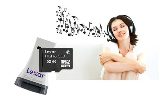 Thẻ Nhớ Microsd Lexar 8G Class 10 Chính Hãng