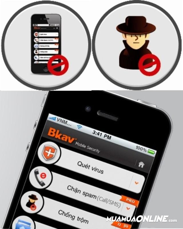 Phần Mềm Diệt Virus Bkav Mobile Security Dùng Cho Điện Thoại